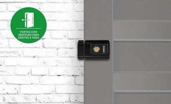 Fechadura Eletrônica c/ Leitor de Tag RFID Intelbras FX 3000 MF - 49400