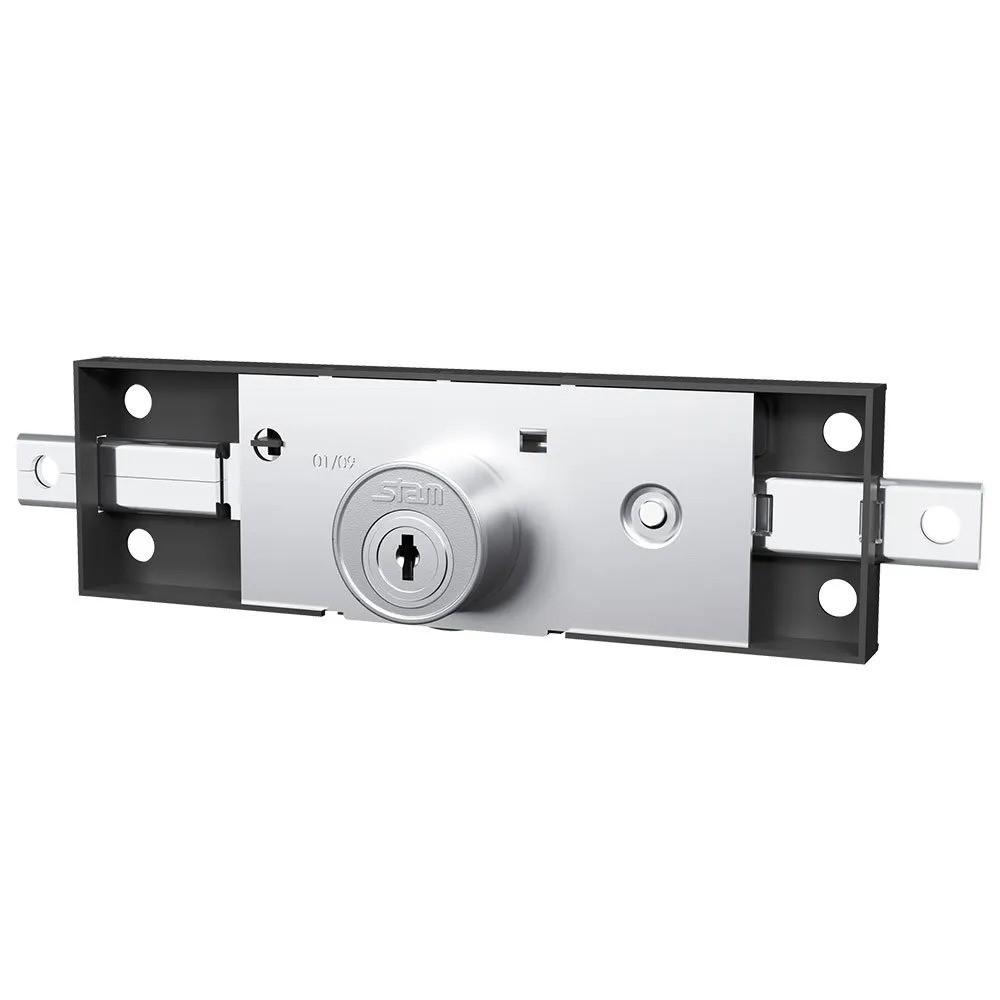 Fechadura Porta de Aço Stam 201 Preto Fosco - 44201