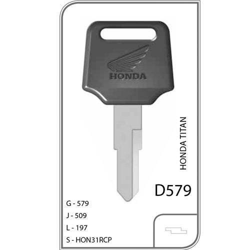 Plástica Honda Motos Titan Nova - D579