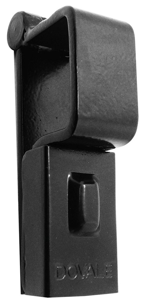 Porta Cadeado Dovale N.1 - 34 X 33 - Preto - 73501
