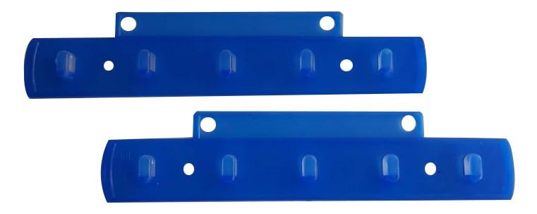 Suporte para Etiquetas azul modelos 10 par c/ 5 ganchos - 77262