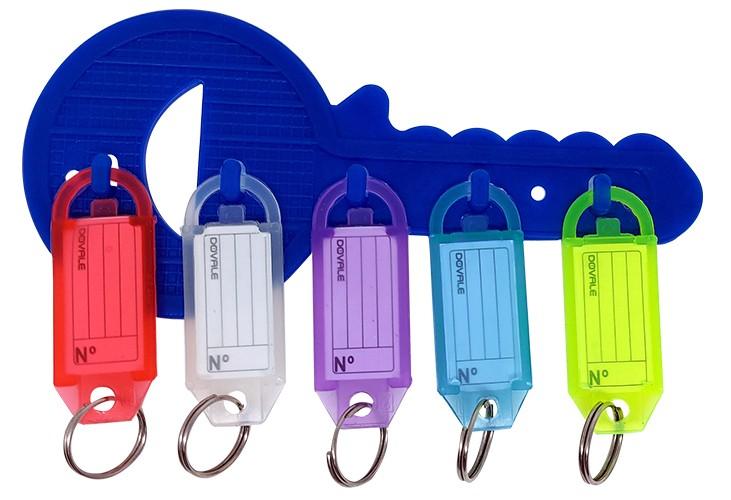 Suporte para Etiquetas modelo 11 c/ 5 ganchos e 5 etiquetas - 77263