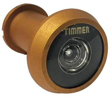 Visor Olho Mágico Timmer Curto Ouro Fosco 200º - 77795