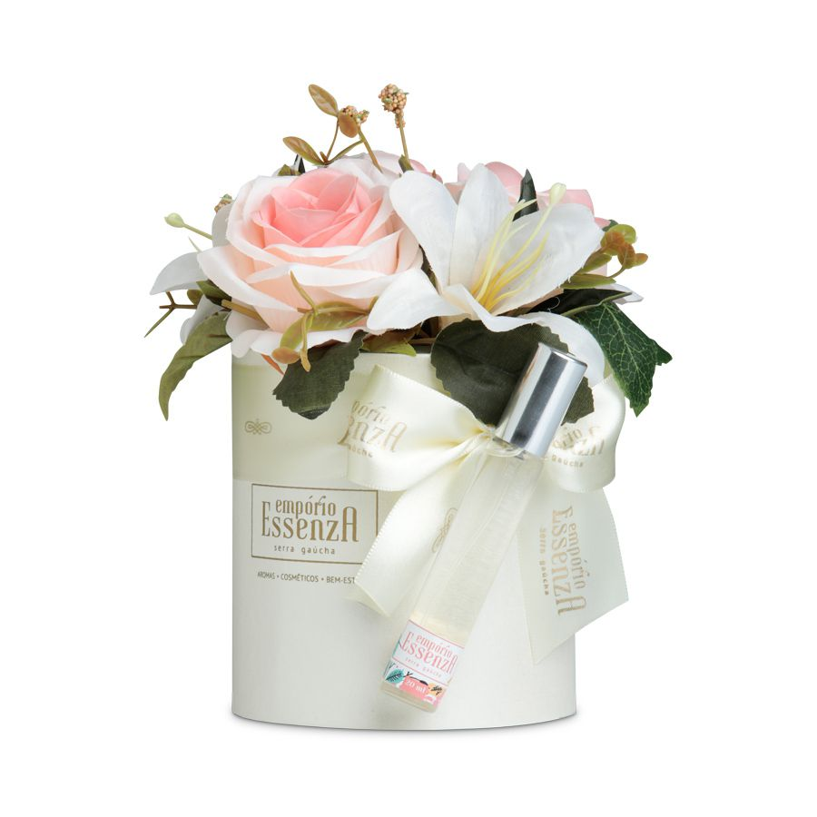 Box Flowers - Branco