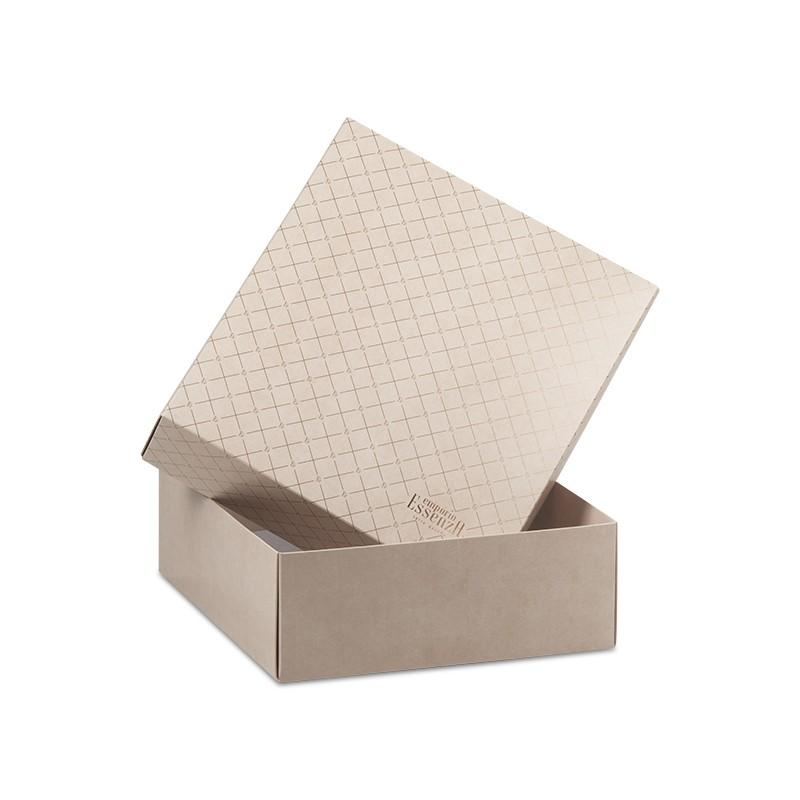 Caixa em Papel Dourada para Montagem de Kits Especiais