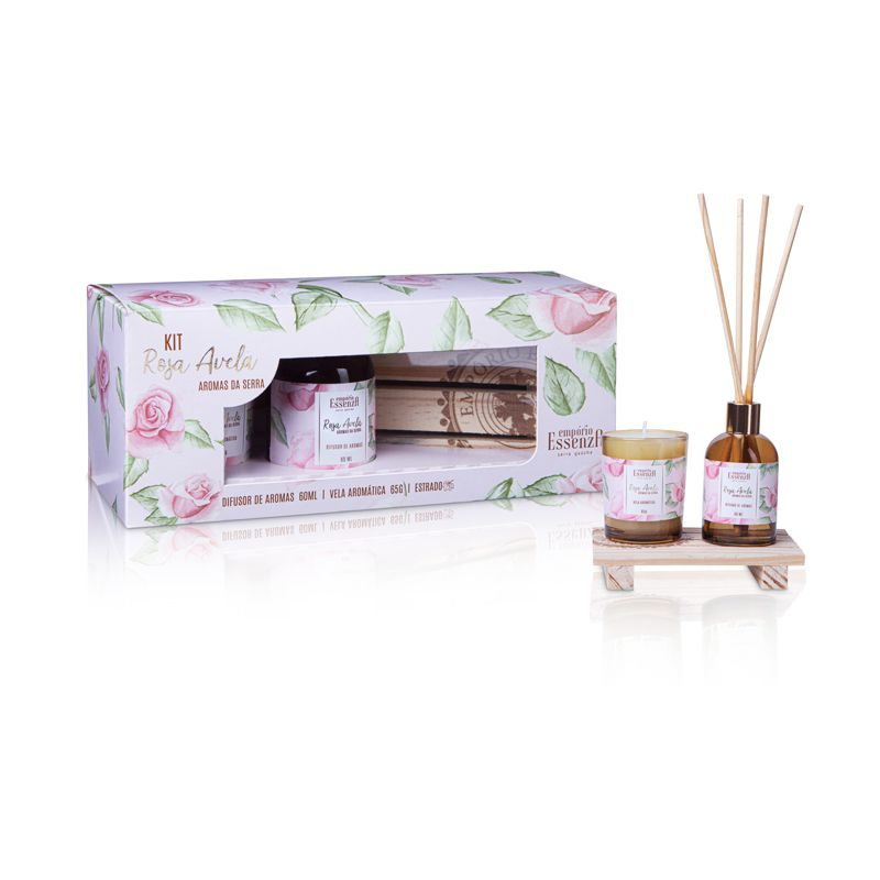 Kit Especial Aromas da Serra - Rosa Avelã