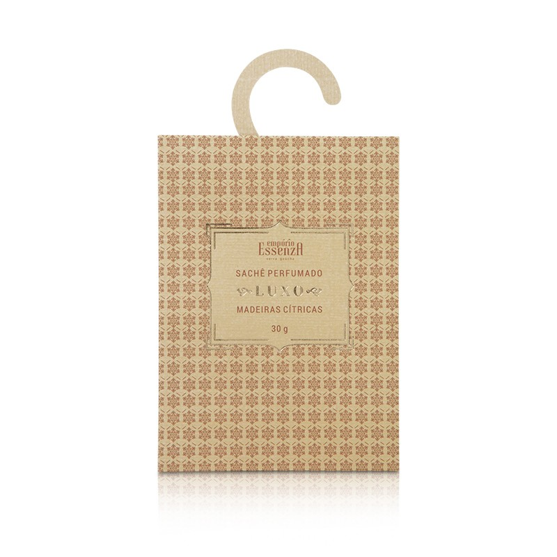 Sachê Perfumado Luxo Madeiras Cítricas