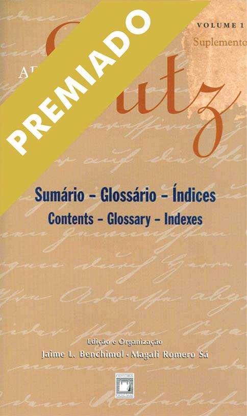 Adolpho Lutz: sumário, glossário, índices (Volume 1 - Suplemento)  - Livraria Virtual da Editora Fiocruz