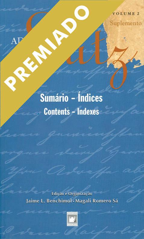 Adolpho Lutz: sumário, índices (Volume 2 - Suplemento)  - Livraria Virtual da Editora Fiocruz