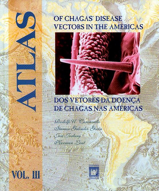 Atlas dos Vetores da Doença de Chagas - Vol. 3  - Livraria Virtual da Editora Fiocruz