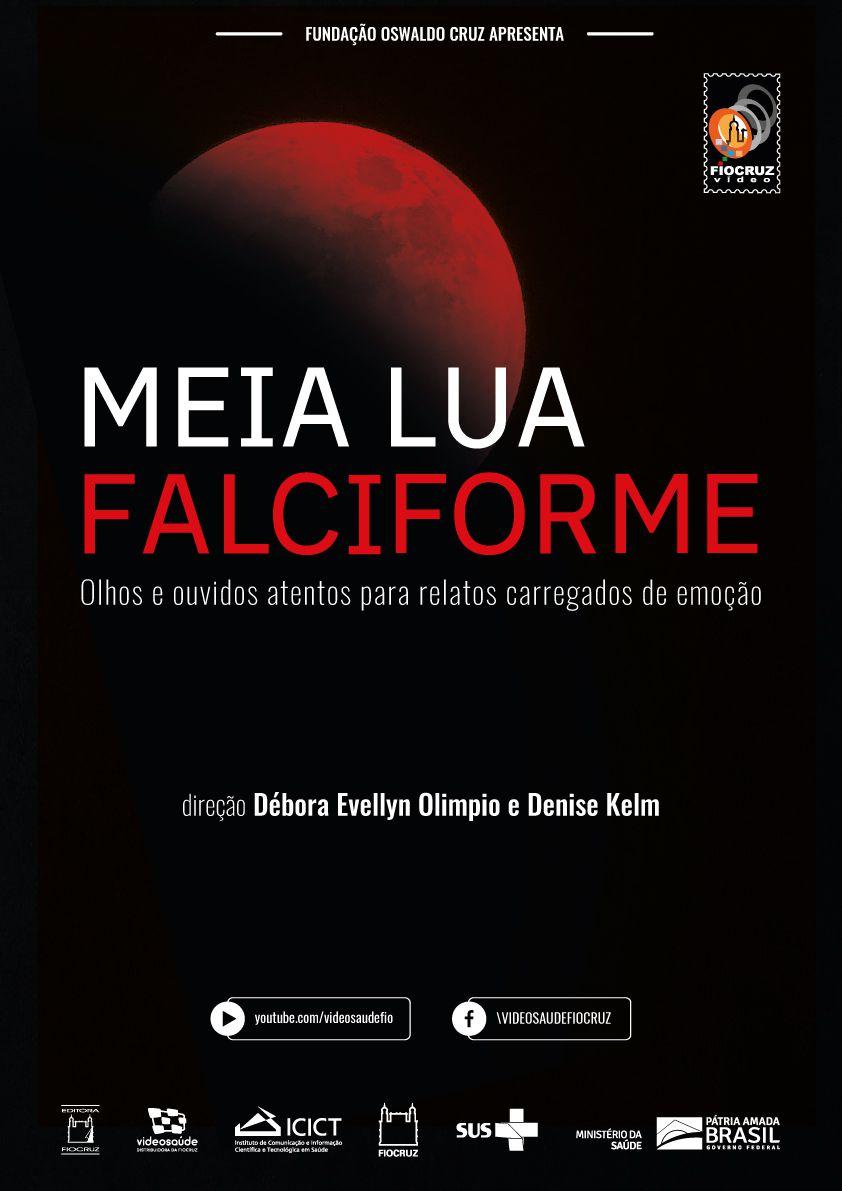 #DVD - Meia lua Falciforme  - Livraria Virtual da Editora Fiocruz