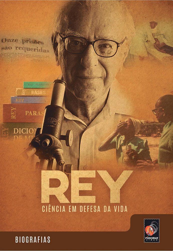 #DVD - Rey, ciência em defesa da vida  - Livraria Virtual da Editora Fiocruz