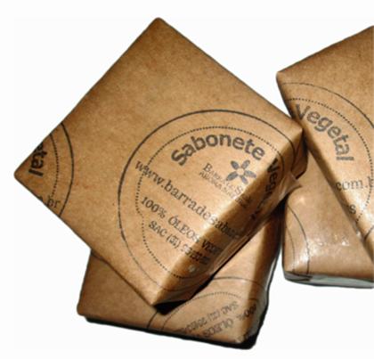 Sabão de castela barra - sabonete 100% azeite de oliva - 2037  - Barra de Sabão - Aroma Natural