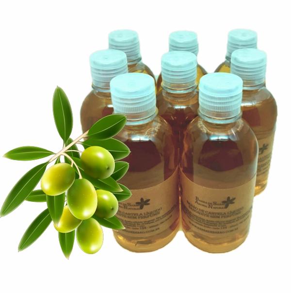 Sabão de castela líquido sem perfume  - Barra de Sabão - Aroma Natural