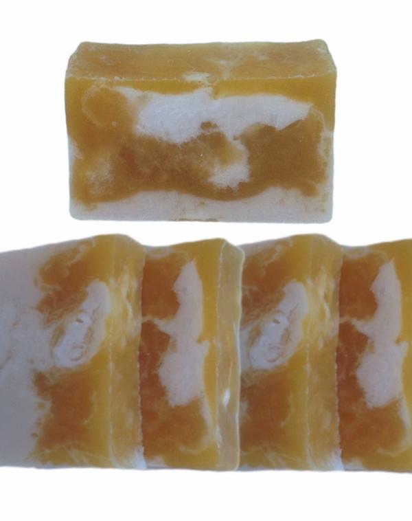 Sabonete de glicerina - manteiga de karité/cítrico - 2188  - Barra de Sabão - Aroma Natural