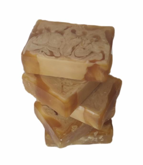 Sabonete de glicerina - manteiga de ucuúba/herbal/cítrico - 2202  - Barra de Sabão - Aroma Natural