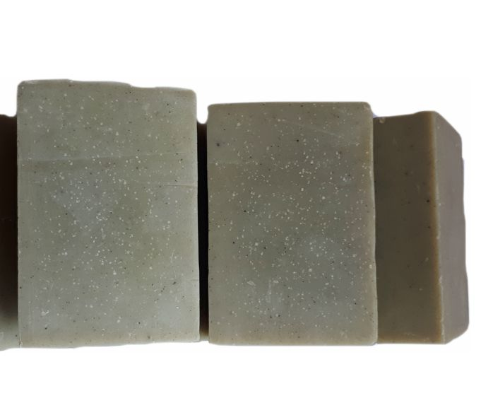 Sabonete óleo de amêndoas, argila verde/herbal - 2046  - Barra de Sabão - Aroma Natural
