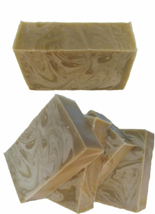 Sabonete óleo de amêndoas, manteiga de ucuúba e óleos essenciais - 2201  - Barra de Sabão - Aroma Natural