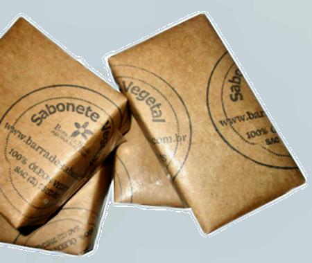 Sabonete óleo de amêndoas herbal - 2140  - Barra de Sabão - Aroma Natural
