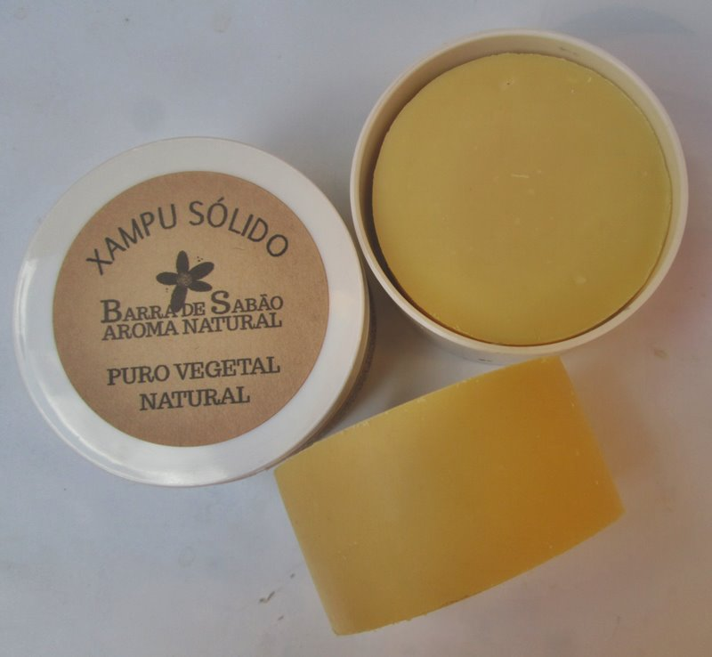 Xampu Sólido Cabelo Seco  - Barra de Sabão - Aroma Natural