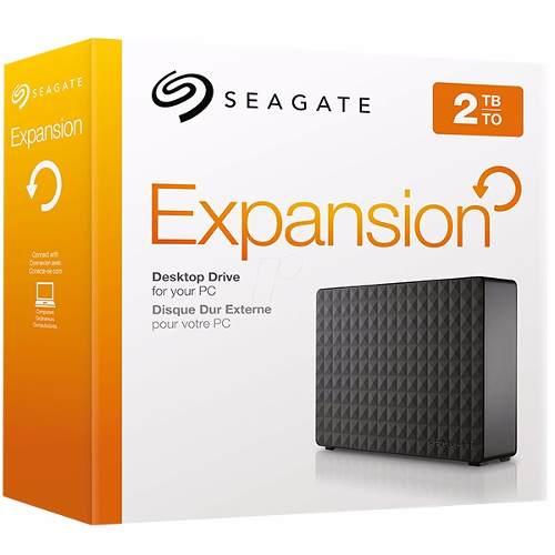 "HD Externo 2TB USB 3.0 Seagate Expansion Desktop Drive STEB2000100 3,5""  - TNTinfo Loja"