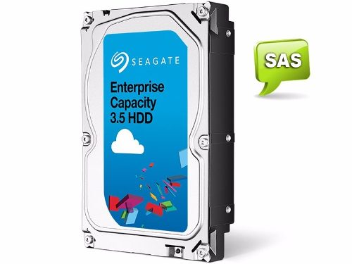 "Hd Servidor Sas 1tb 128mb 6gbps 7200rpm 3,5"" Seagate Enterprise St11000nm008  - TNTinfo Loja"