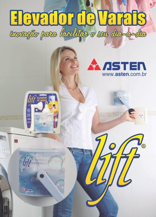 LIFT - Elevador para Varais de Teto  - TNTinfo Loja