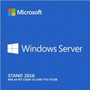 Microsoft Windows Server 2016 Standard 64 Bits P73-07108 COEM