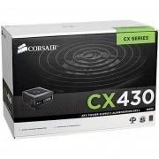 Fonte Corsair CX430W - CP-9020046-WW 80 Plus