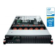 Servidor Rack Lenovo RD640 Intel Xeon 6c E5-2630v2 Six Core, Memória 8gb, HD 2x300gb Raid710 1gcache 2x800w 70b1000mbn