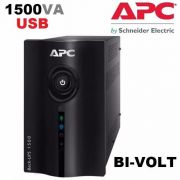 No-break Gerenciável Apc Back-ups 1500va Bi-volt 110v/220v BZ1500-BR USB