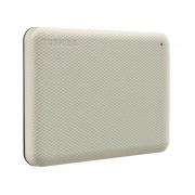 Hd Externo Portatil 4TB Toshiba Canvio Advance BRANCO HDTCA40XK3CA