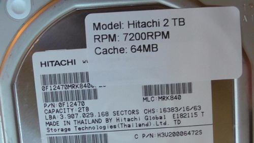 """Hd Hitachi Enterprise 2tb 2000gb 64mb Sata3 6gb/s 7200rpm 3,5""""  - TNTinfo Loja"""