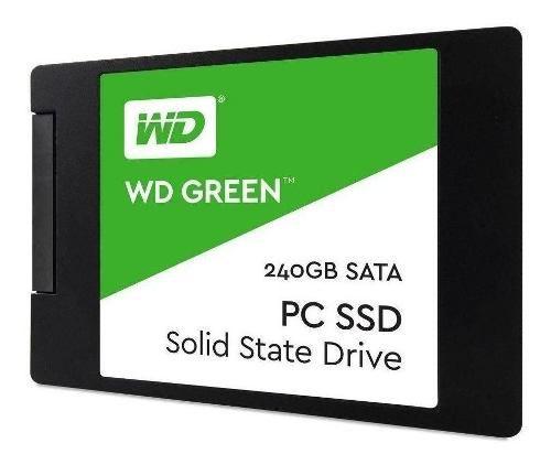 SSD WD Green 240GB SATA3, Leitura 545MB/s, Gravação 465MB/s   - TNTinfo Loja