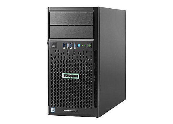 Servidor Hp Proliant Ml30 Intel Xeon Gen9 E3-1220v6 16gb 2x1tb DVDRW 1 ano on-site   - TNTinfo Loja