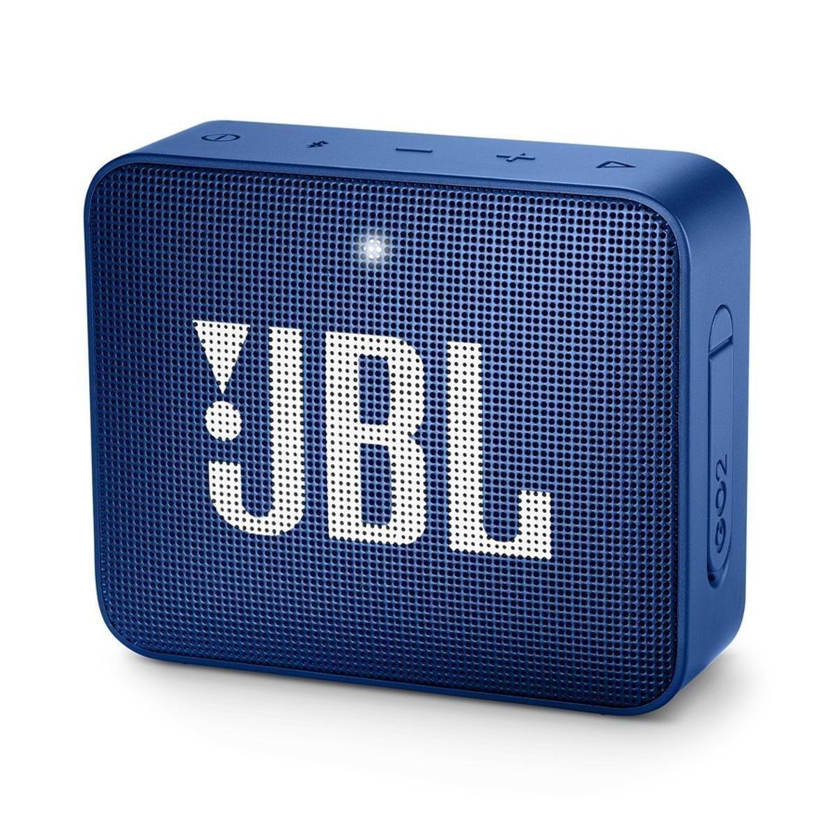 Alto-falante Jbl Go 2 Portátil Com Bluetooth Azul  - TNTinfo Loja