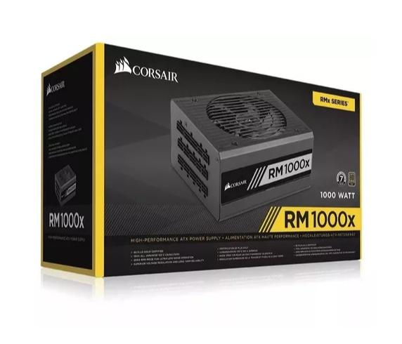 Fonte ATX Corsair 1000W RM1000X 80Plus Gold Modular CP-9020094  - TNTinfo Loja