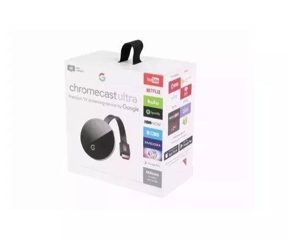 Google Chromecast 4k Ultra Hd 2017 Original Hdmi  - TNTinfo Loja