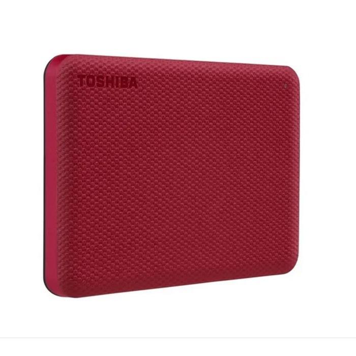 Hd Externo Portatil 4TB Toshiba Canvio Advance VERMELHO HDTCA40XK3CA  - TNTinfo Loja