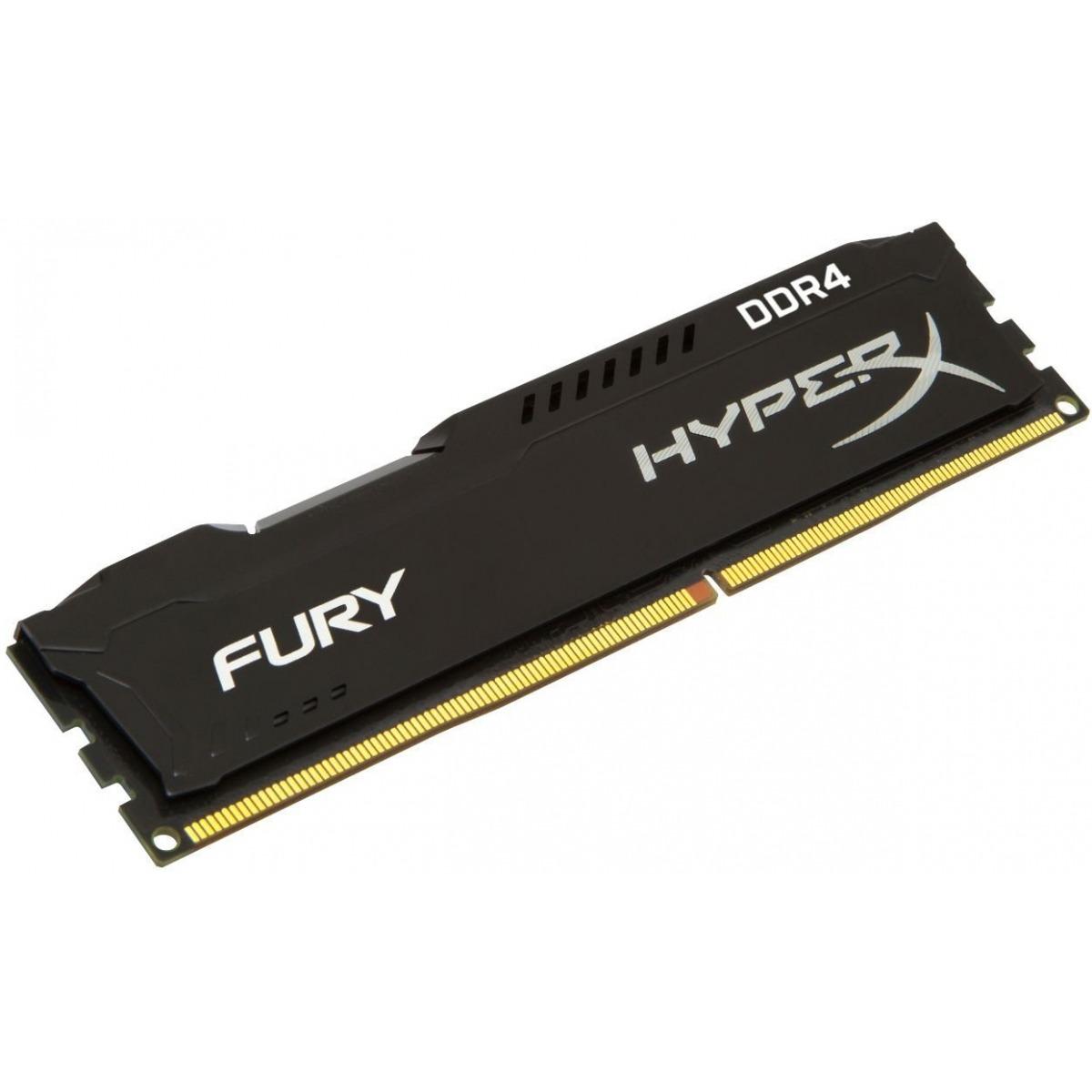 Memoria DDR4 16GB 2666Mhz Kingston HyperX Fury Black HX426C16FB4/16  - TNTinfo Loja