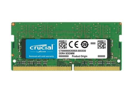 Memoria Notebook DDR4 8GB 2666Mhz Crucial Ct16g4Sfra266   - TNTinfo Loja