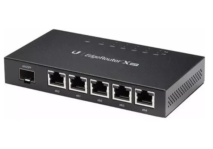 Roteador Ubiquiti Networks EdgeRouter X SFP ER-X-SFP  - TNTinfo Loja