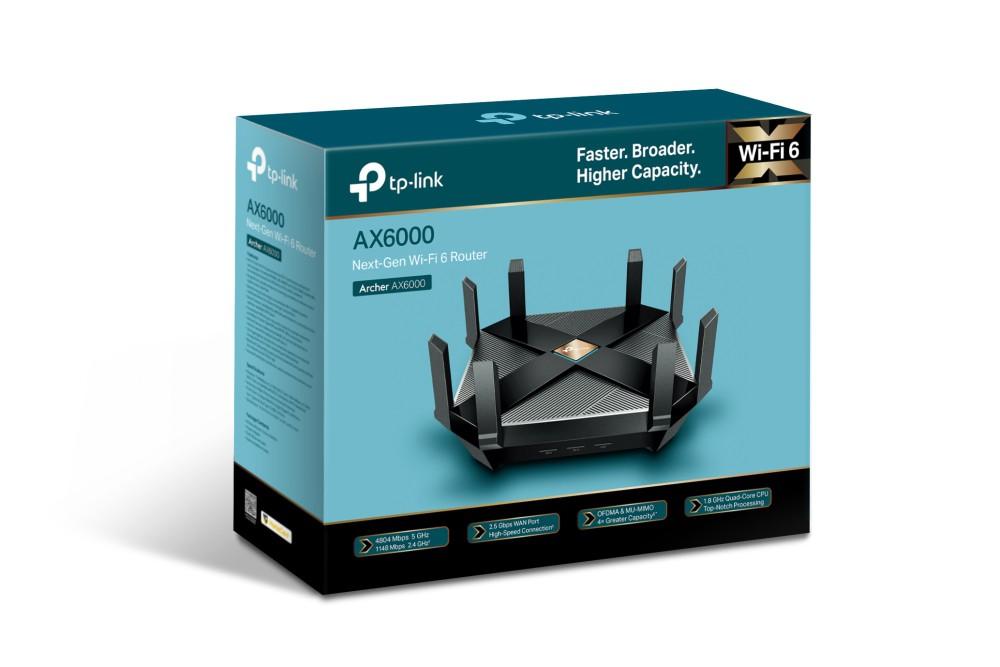 Roteador Wireless Tp-link Archer AX6000 Gigabit Wifi 6 (802.11ax)  - TNTinfo Loja
