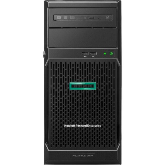 Servidor HP Proliant ML30 Gen10 Intel Xeon E-2124 3.3 Ghz 32GB 1TB +01 SSD NVMe M.2 960GB  - TNTinfo Loja