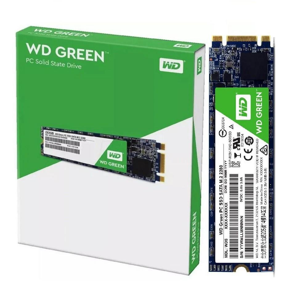 SSD 240GB Western Digital Wd Green Sata3 Wds240g2g0B M.2  - TNTinfo Loja