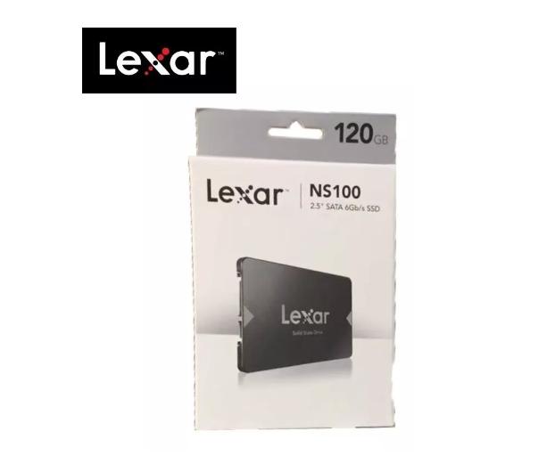 SSD Lexar NS100 128GB SATA3 Leitura 520MB/s - LNS100-128RBNA  - TNTinfo Loja