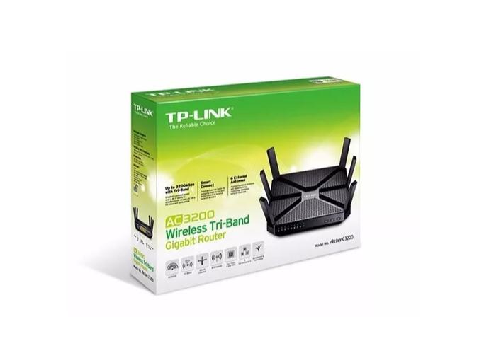 Roteador Tp-link Archer C3200 Ac3200 Tri-band Gigabit 1000mw   - TNTinfo Loja