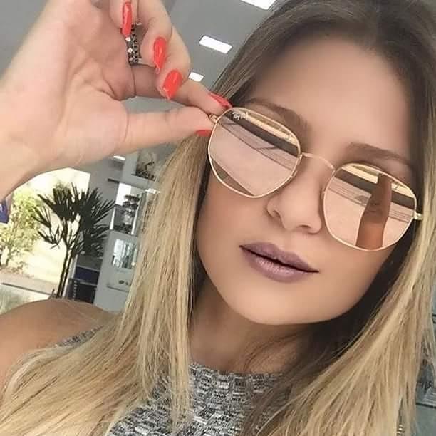 ÓCULOS RAY BAN HEXAGONAL ROSÊ - Lê Rosê Moda   Acessórios Femininos afc0bb72c2