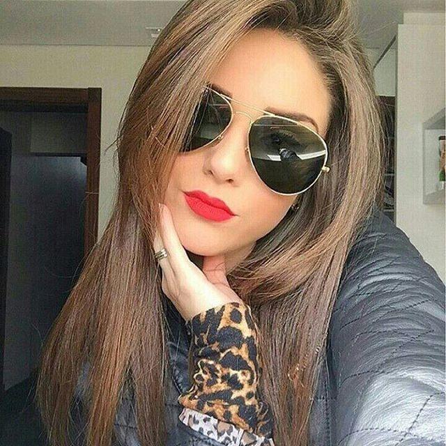 Óculos RB Aviador Verde Dourado - Lê Rosê Moda   Acessórios Femininos faf6b77e7f