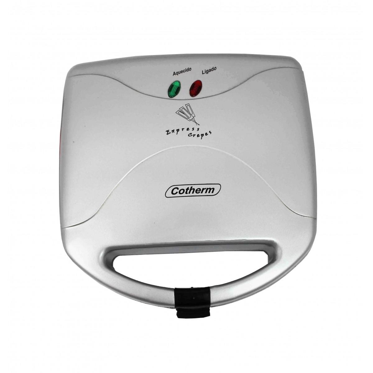 Maquina de Crepe Cotherm Express Crepes - Crepe Suiço  - Topcom Eletro